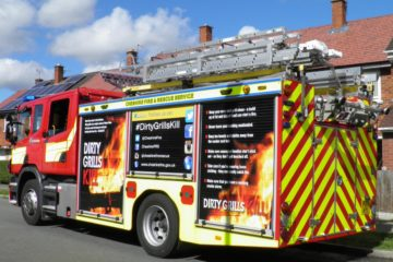 Electrical fire West Yorkshire nursery