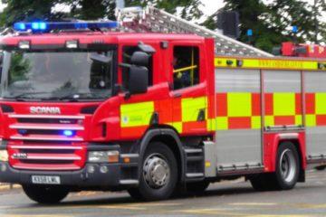 Leeds house fire in cellar